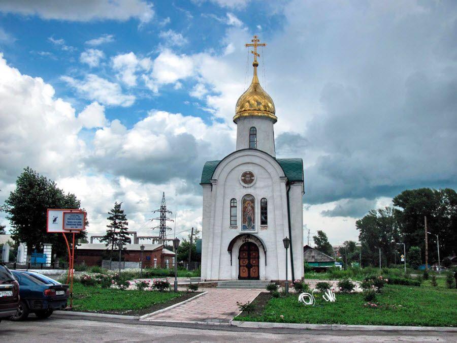Храм Святой Варвары в Кемеровской области фото