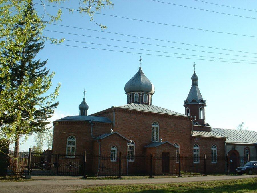 Фото Храм Пророка Ильи в Кемеровской области