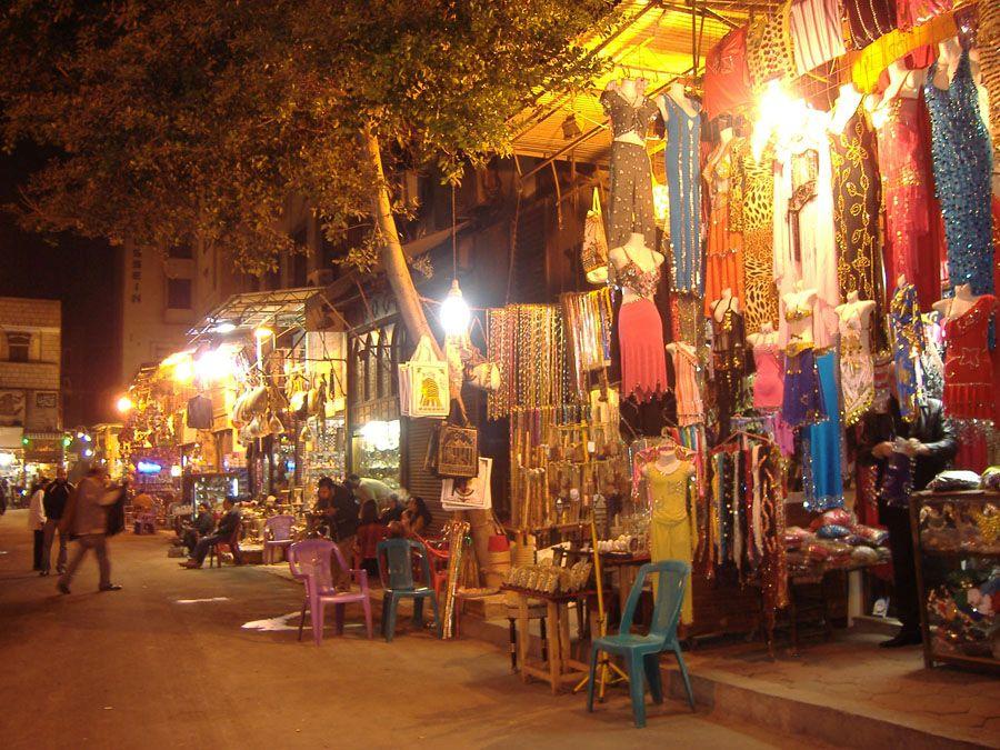 Хан-эль-Халили в Каире фото