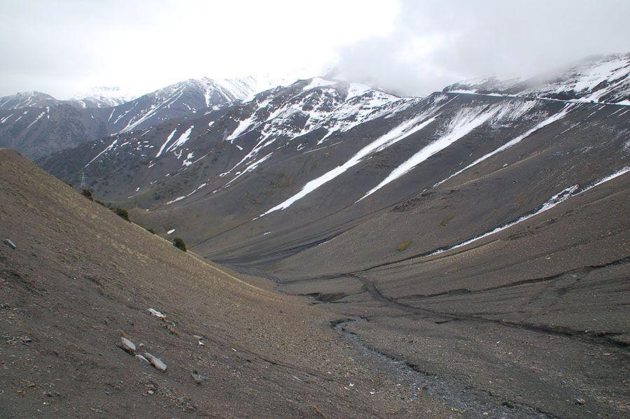 Худжанд – снежные вершины