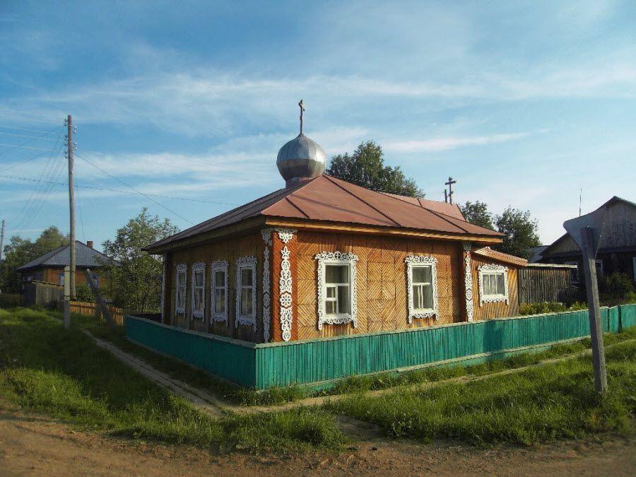 Фото архитектуры деревеньки Бисерово Кировской области