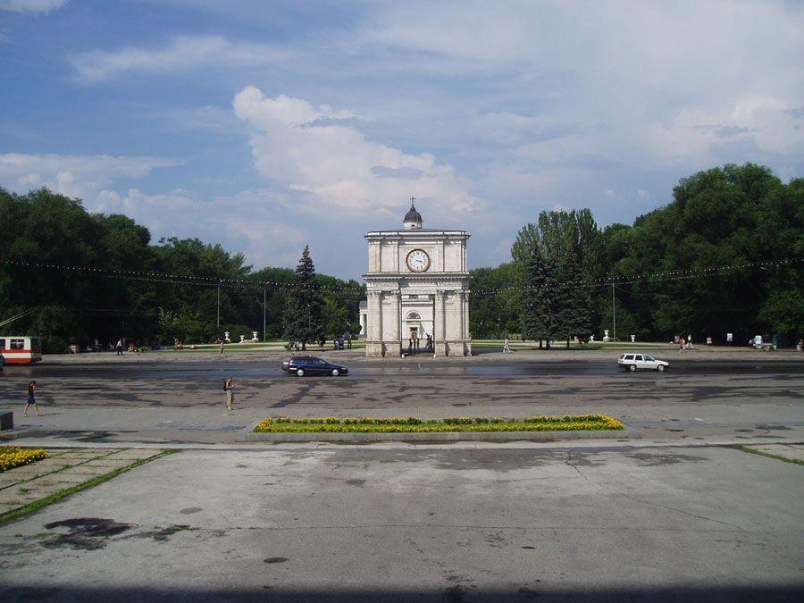 Фото Кишинева в Молдове