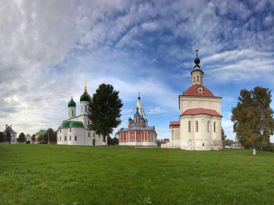 Кремль Коломны вид внутри фото