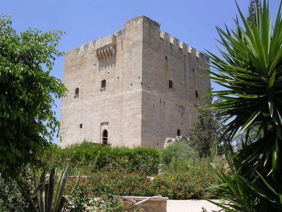 Фотография замка Колосси в Лимассоле на Кипре