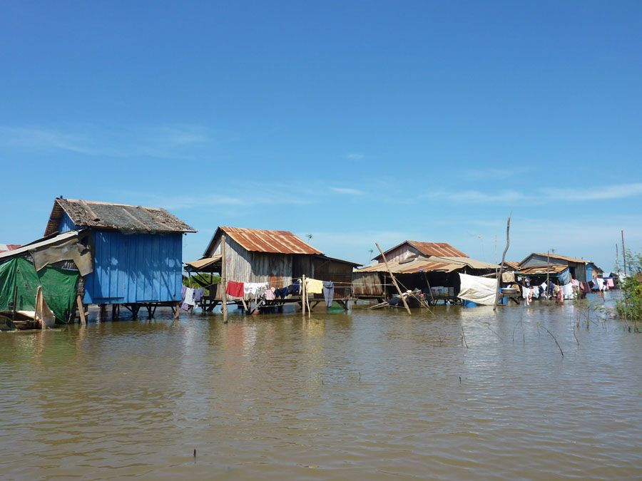 Город на воде Кампонг Луонг