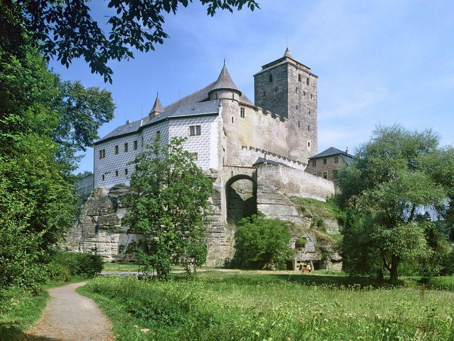 Фото замка Кост в Восточной Богемии, Чехия
