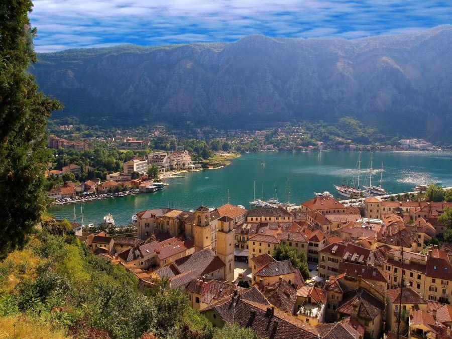 Фото города Котор в Черногории