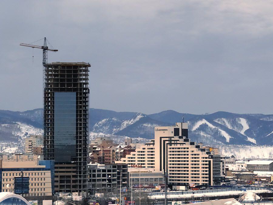 Фото нового города в Красноярске