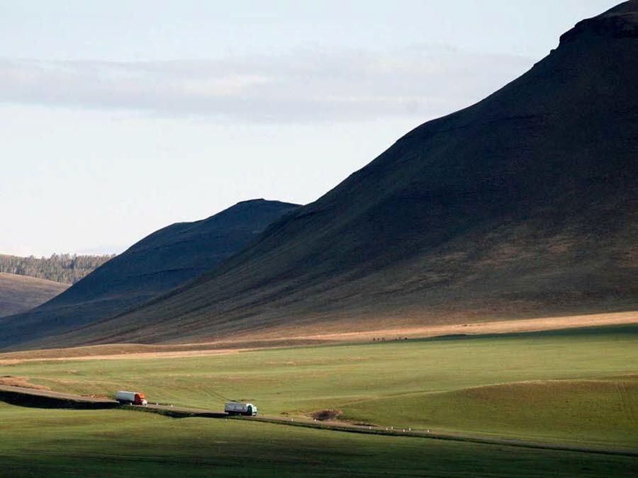 Фото красивых холмов Краснодарского края