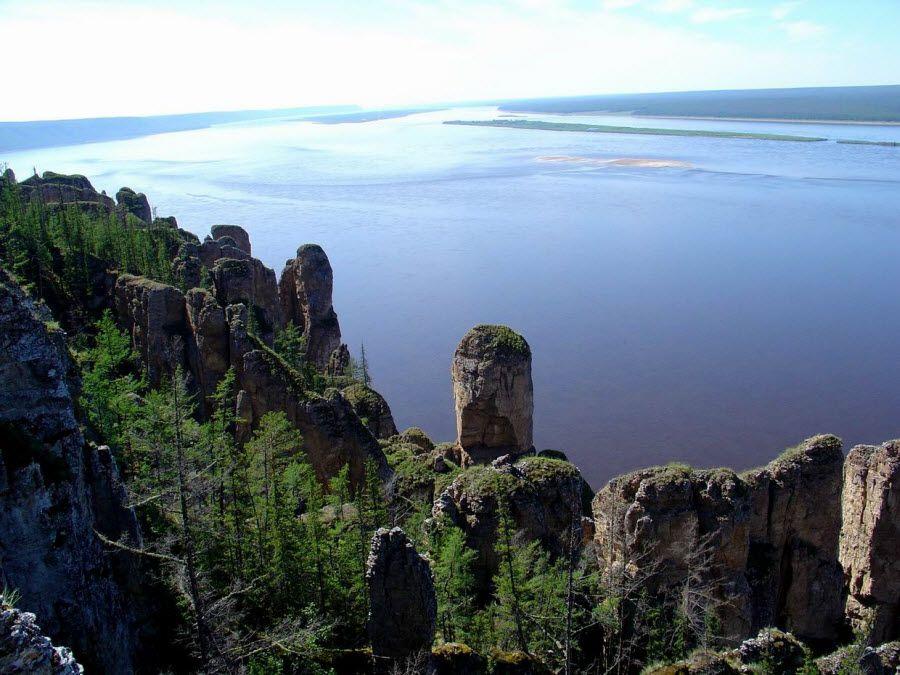 Фото вид на Енисей в Краснодарском крае