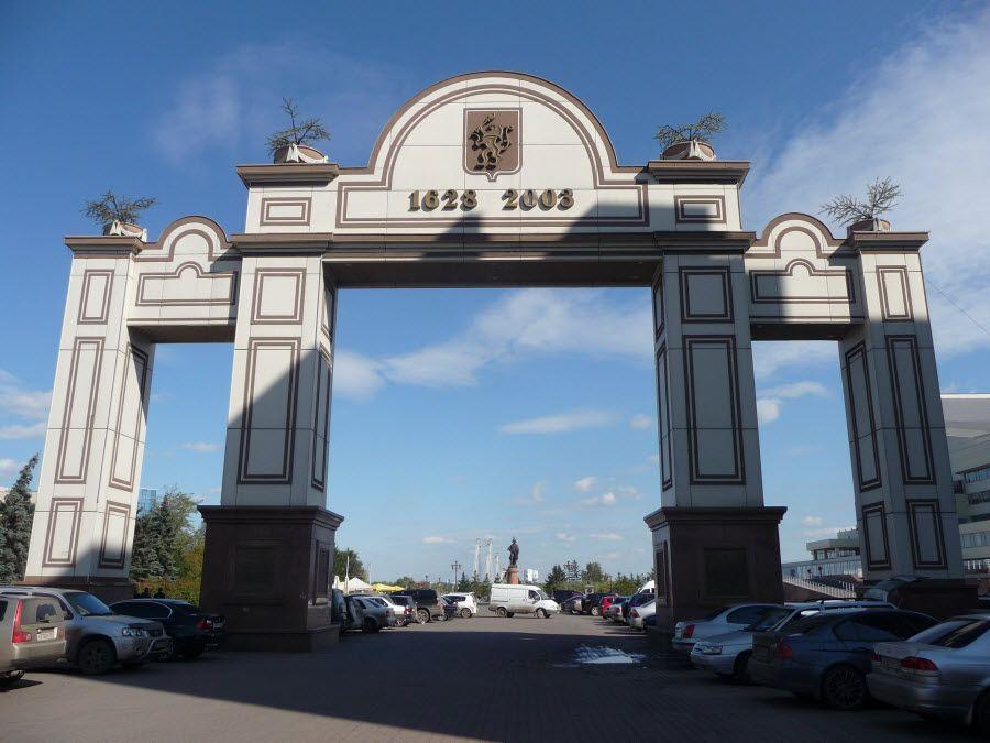 Фото Триумфальная Арка в городе Красноярск