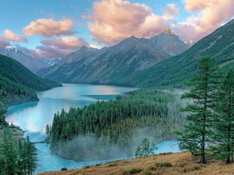 Фотография Большого Кучерлинского озера