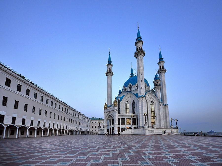 Мечеть Кул-Шариф в Казанском Кремле фото