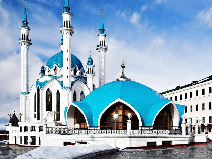 Фотография мечети Кул-Шариф в Казани