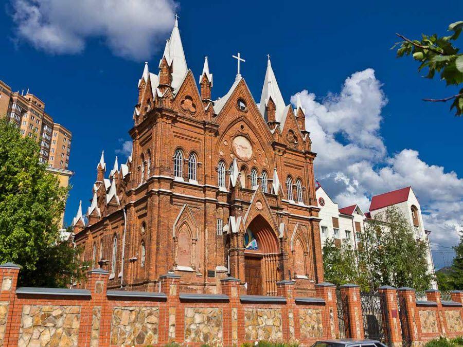 Фото удивительного храма Курской области