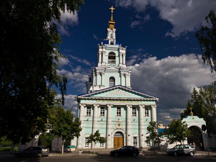 Фото красивого собора Курской области