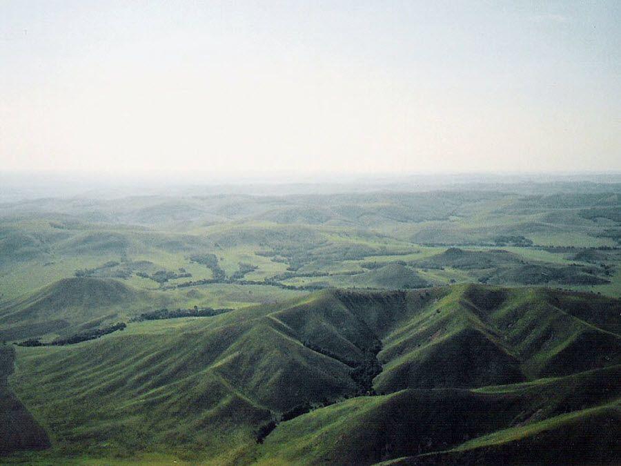 Фото холмов Кувандыка Оренбургской области