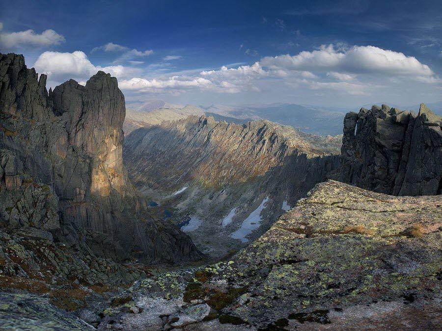 Фото горы заповедника Алатау в Кемеровской области