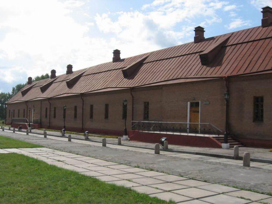 Фото архитектуры Кузнецкой крепости