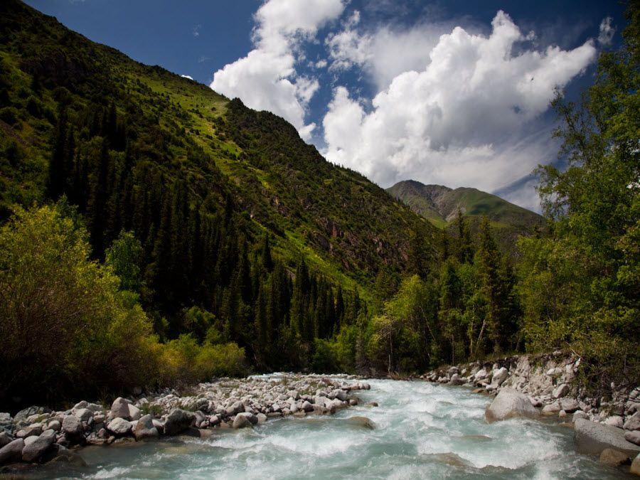 Фото национального парка Ала-Арча в Киргизии