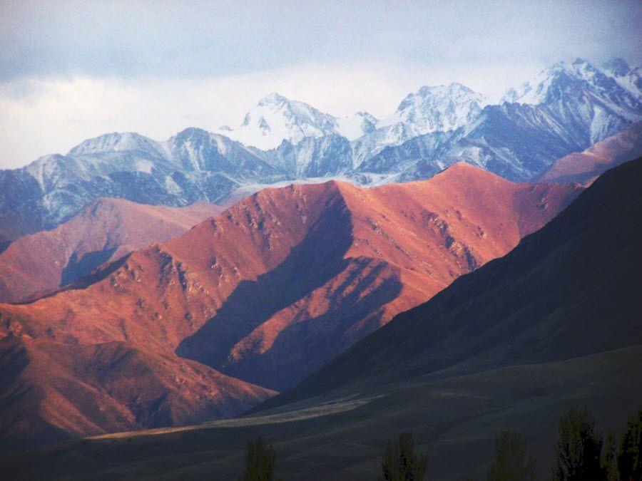 Фото красивых гор Киргизии