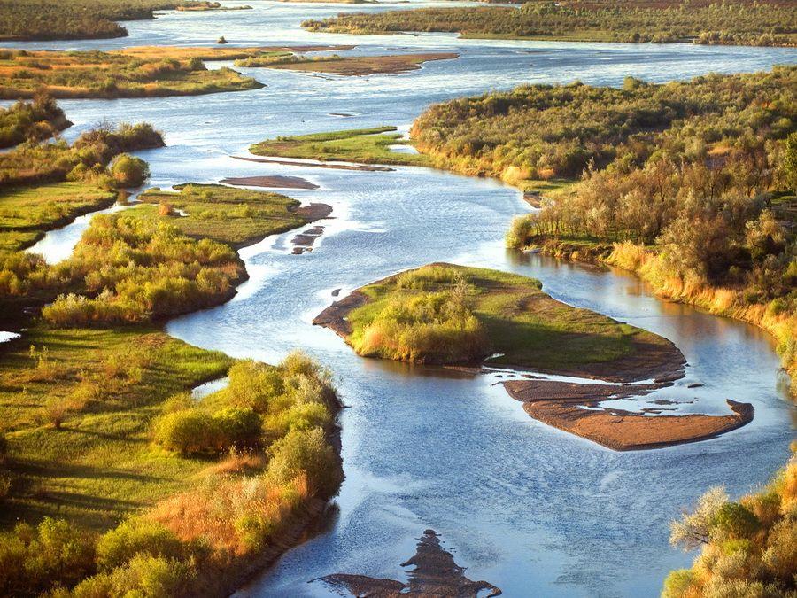 Озеро Балхаш фото пейзажей Казахстана