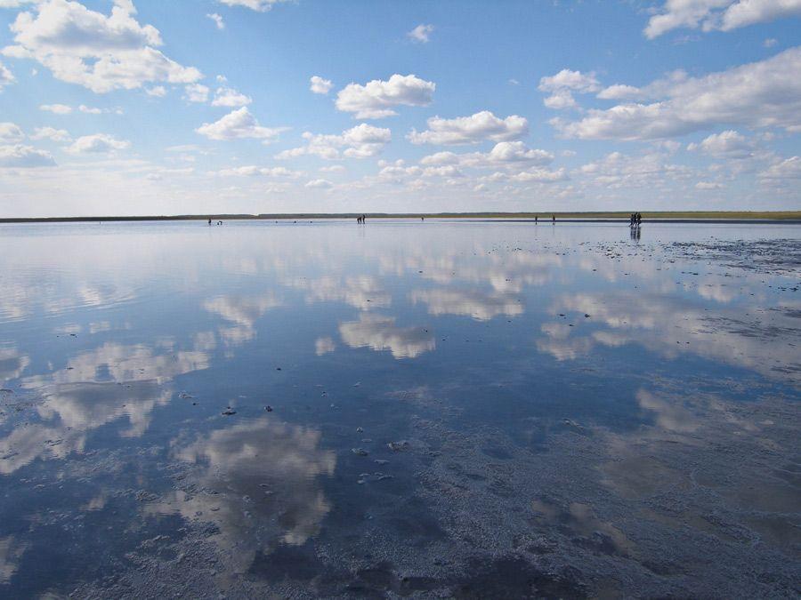 Фотография Медвежьего озера в Курганской области