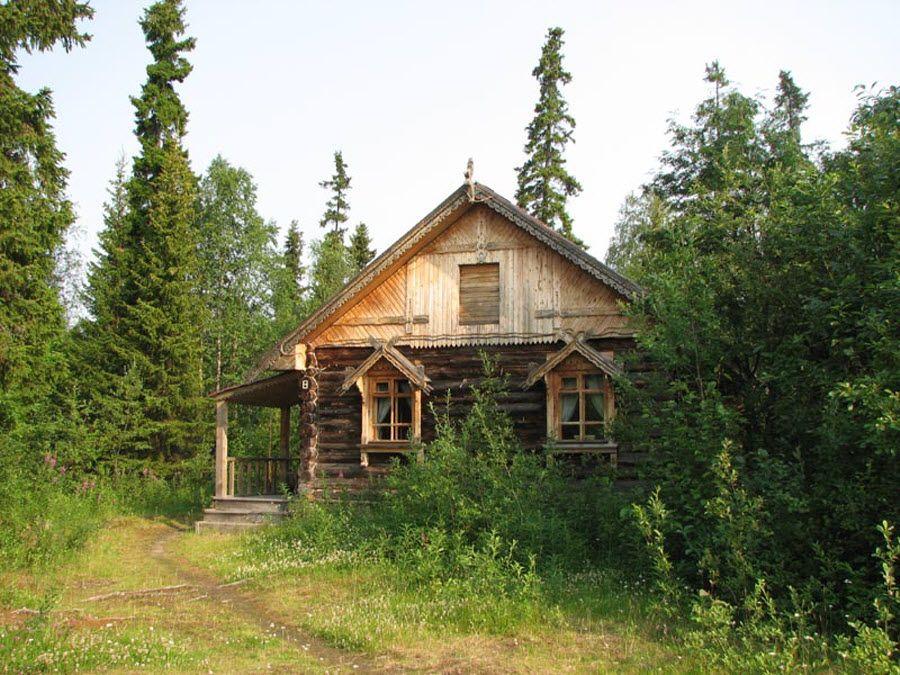 Дом Деда Мороза в Лапландском заповеднике фото