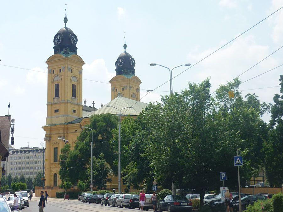 Большая церковь Дебрецен фото