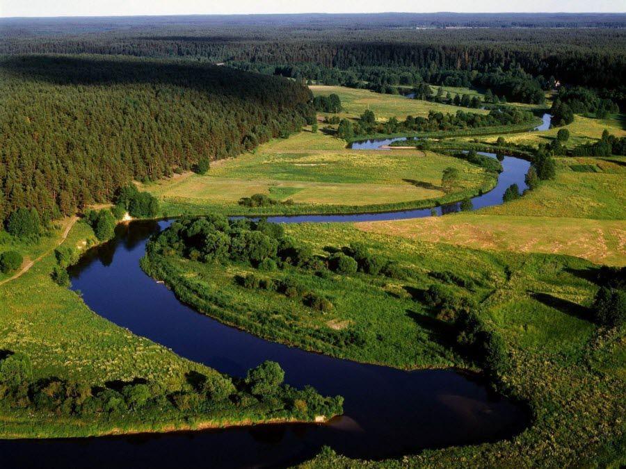 Фото потрясающей природы Литвы
