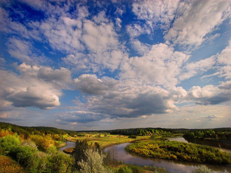 Фото нежных равнин Литвы