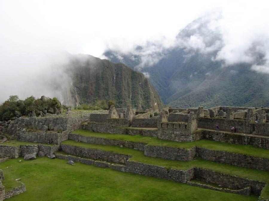 Мачу-Пикчу вблизи фотография