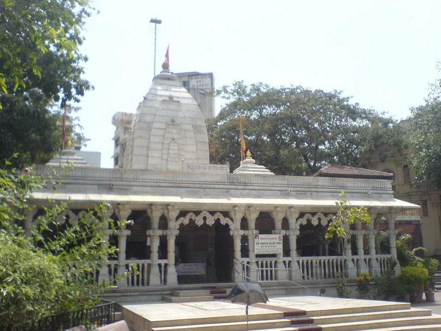 Фотография храма Махалакшми в Мумбаи