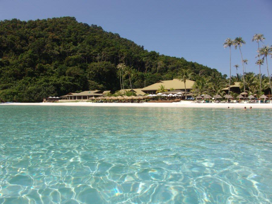 Фото красивого пляжа Малайзии