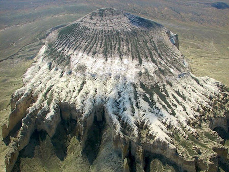 Плато Мангышлак фото вид с высоты