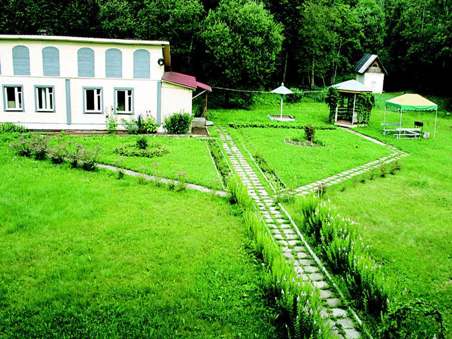 Вид на природу Алексеевской усадьбы фото
