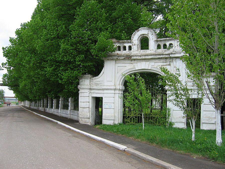 Ворота усадьбы В. Г. Асеева фото