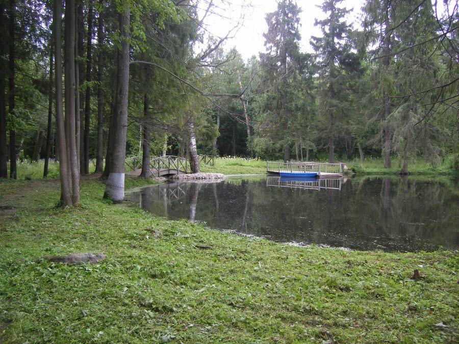 Фото парка в Усадьбе Знаменское-Раек