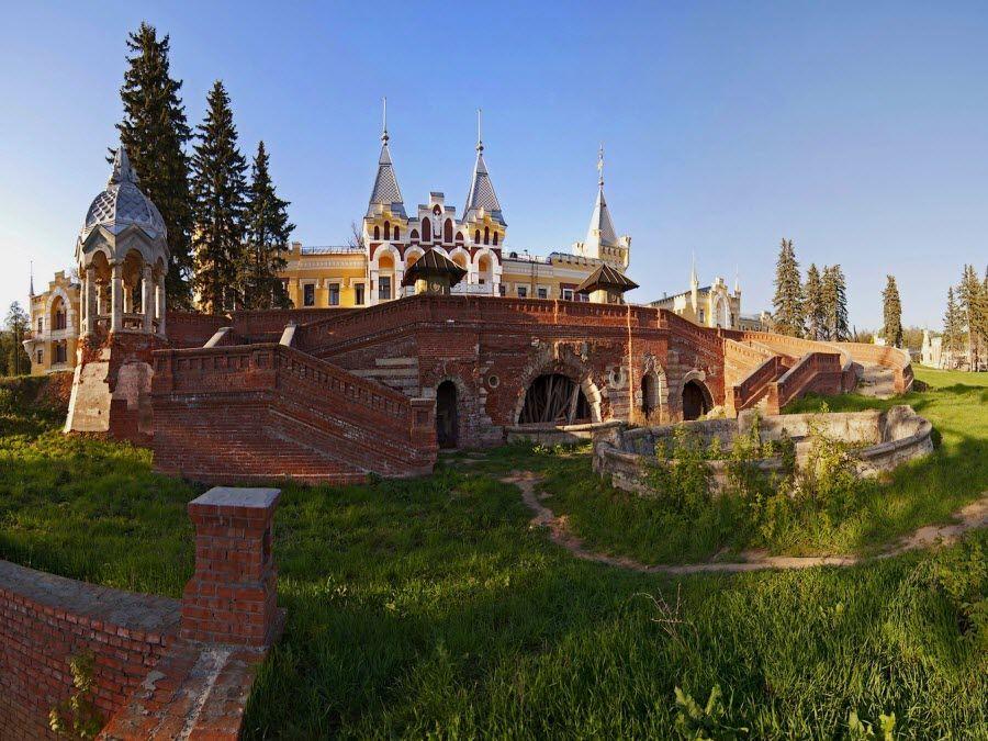 Усадьба фон Дервиза в Рязанской области фото