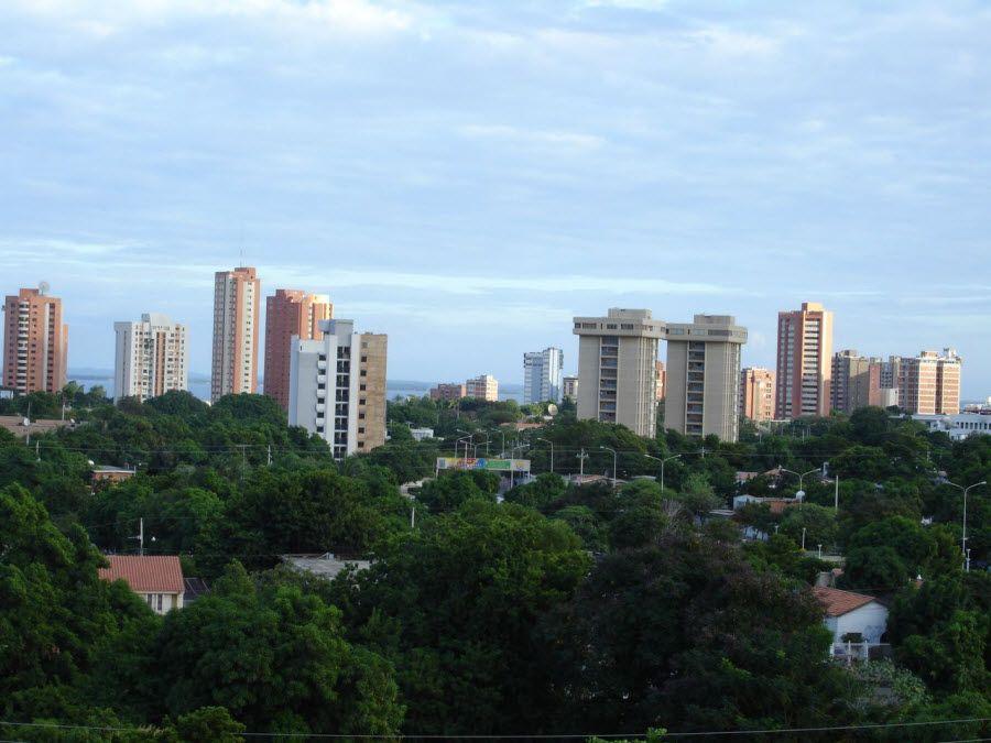 Фото городка Маракайбо в Венесуэле