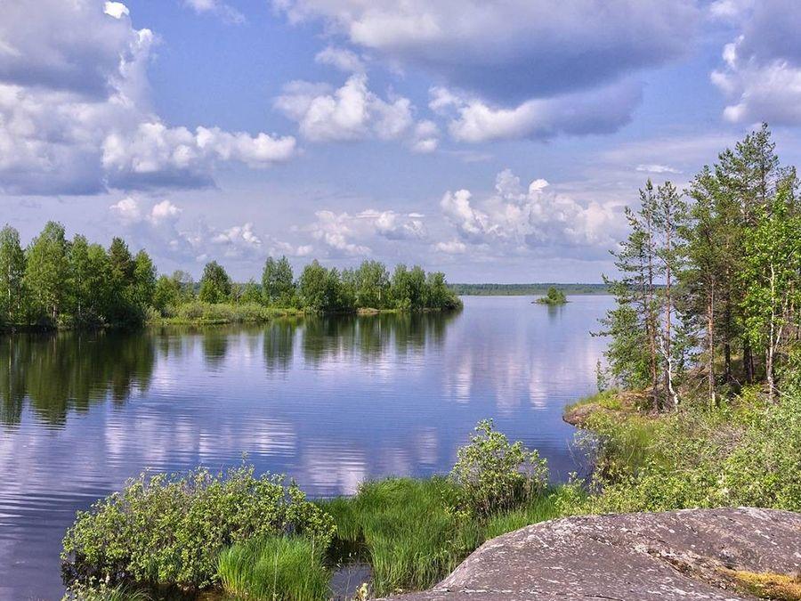 Фотография озера Габозеро на Марциальных водах