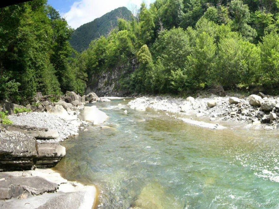 Фото река в Марьином ущелье