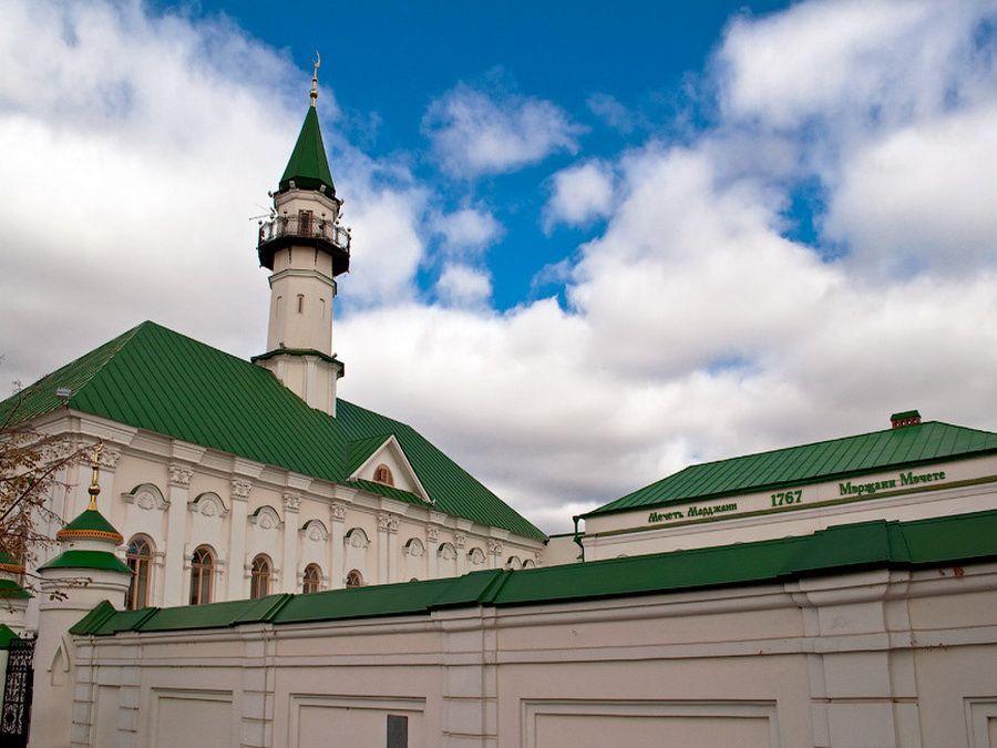 Фотография мечети аль-Марджани в Казани