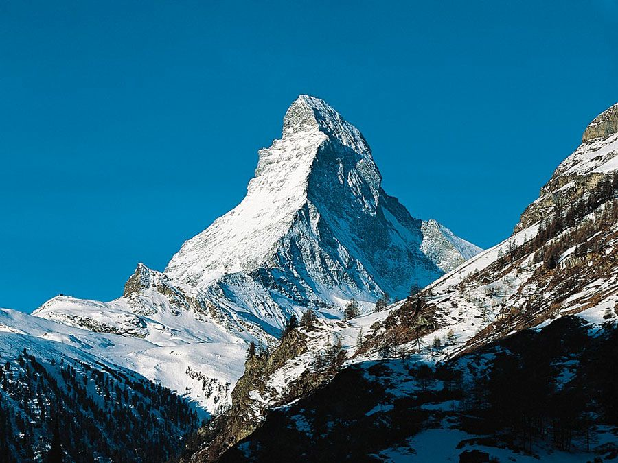 Фотография горы Маттерхорн