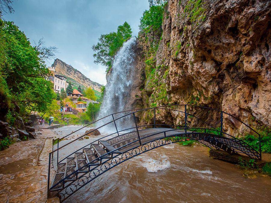 Медовые водопады фото Карачаево-Черкессии