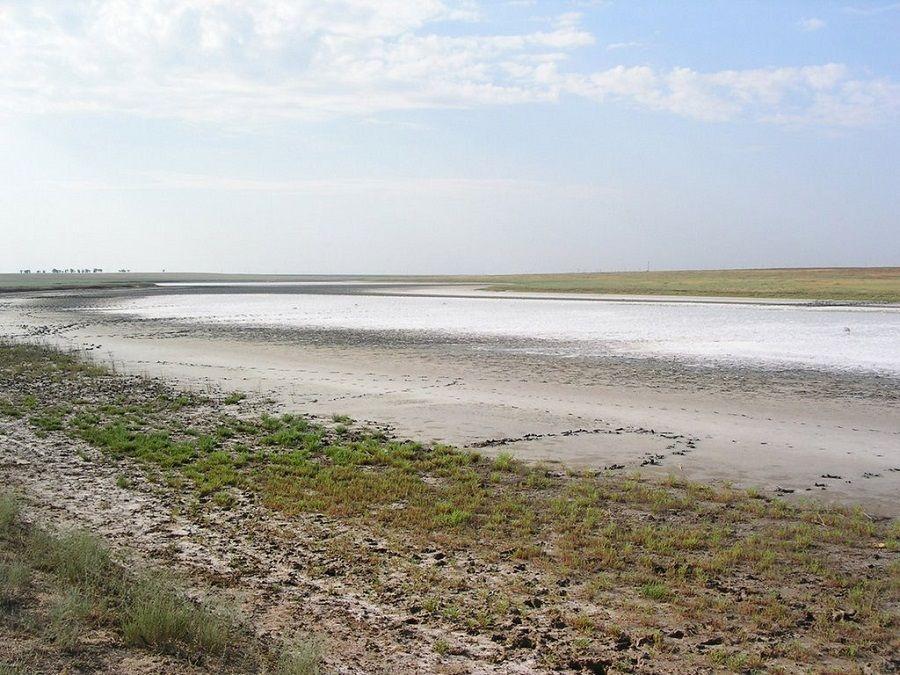 Фотография озера Колтан-Нур в Калмыкии