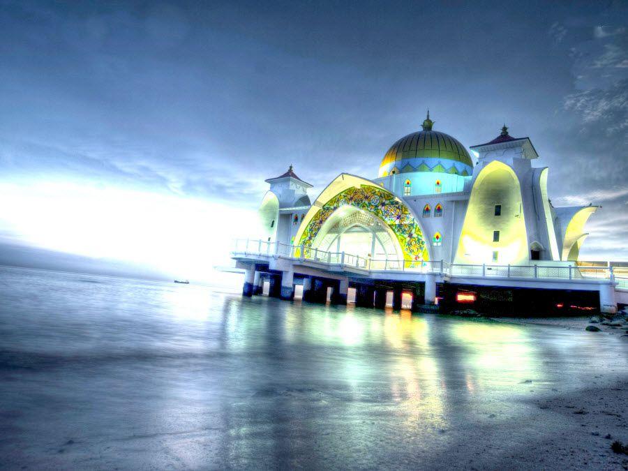 Фото потрясающего храма Мелака в Малакке Малайзия