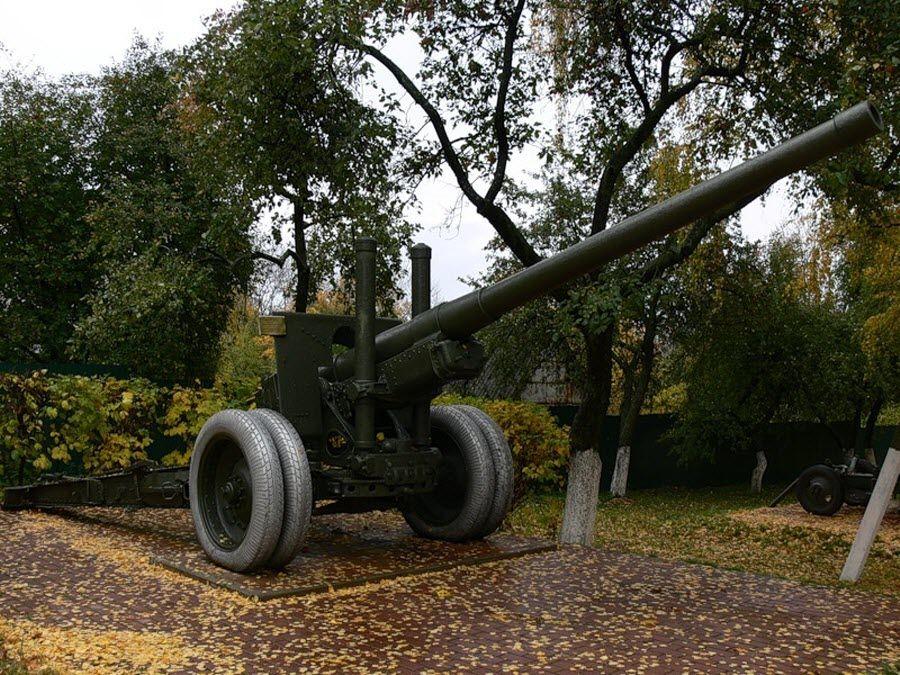 Мемориальный комплекс КП Центрального фронта фото пушки