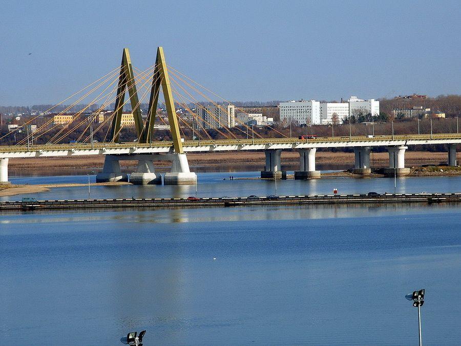Мост Миллениум фото Казани