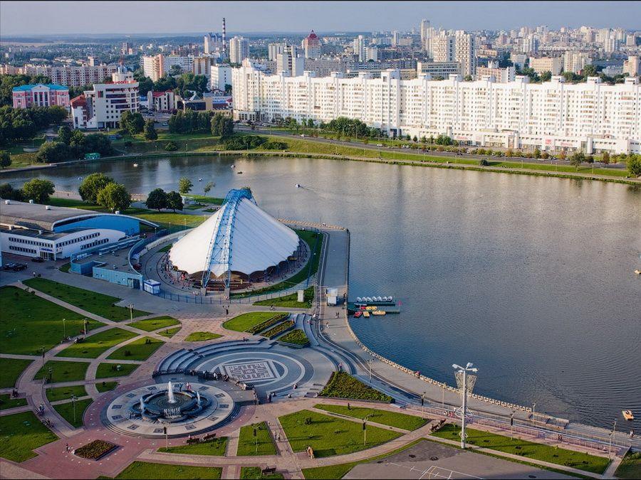 Фотография панорамы Минска